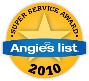 Angie's List award winner.